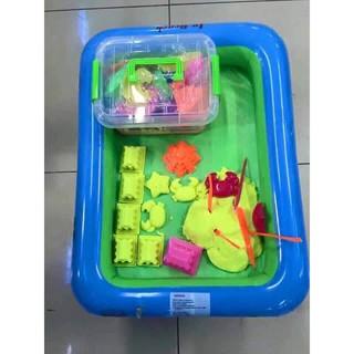Bộ đồ chơi khuôn và cát nặn vi sinh
