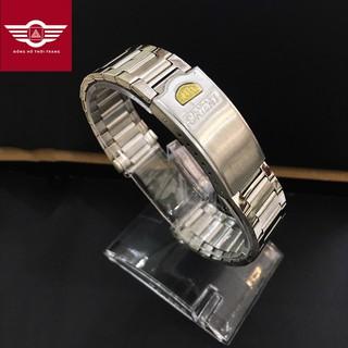 [XẢ KHO] Dây đồng hồ kim loại lắp cho đồng hồ Orient, thép không gỉ cao cấp size 18mm thumbnail