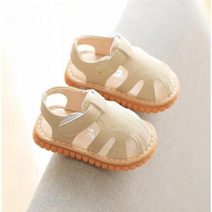 Dép sandal tập đi cho bé trai, bé gái phát tiếng kêu chip chip