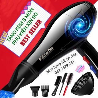 máy sấy tóc tạo kiểu công suất lớn tặng kèm bộ phụ kiện