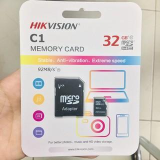 [Mã ELFLASH5 giảm 20K đơn 50K] Thẻ nhớ HKVISON 32GB CLASS 10- Hàng chính hãng