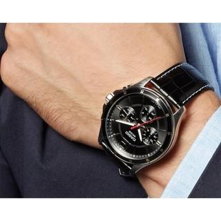 Đồng hồ nam dây da Casio chính hãng Anh Khuê MTP-1374L-1AVDF