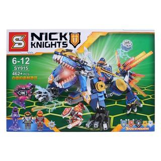 Bộ Lego xếp hình Nick Knights SY915 – 462pcs
