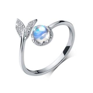 Nhẫn Bạc   Nhẫn Bạc Nữ 925 Thiết Kế Hình Đuôi Cá Tính Độc Đáo N2460 - Bảo Ngọc Jewelry