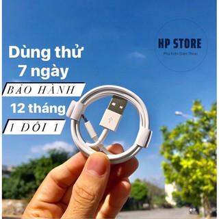 Cáp Zin Iphone [ Bh 12 Tháng ] Dây Sạc Iphone Dành Cho Các Đời 5/6/6Plus/7/7Plus/8/8Plus/X/Xsmax