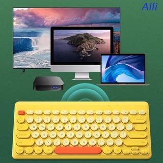 Bàn Phím Tròn Mini Không Dây Cho Macbook - Lenovo Dell - Asus Laptop - Ipad Tablet thumbnail