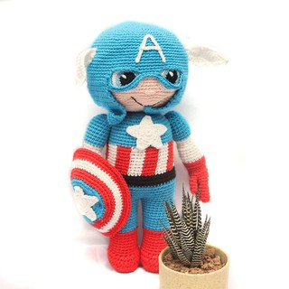 Captain America – Toys made by The Bunny