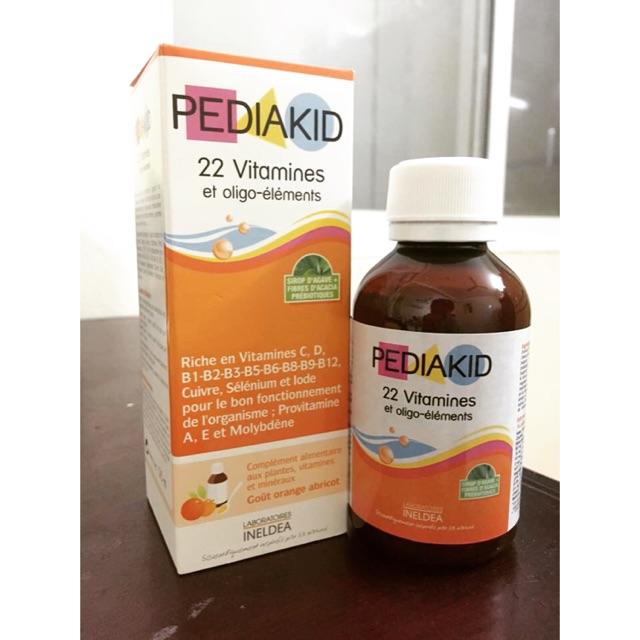 PediaKid 22 Vitamins Của Pháp 125ml