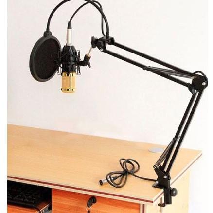 Giá đỡ micro, chân kẹp bàn mic thu âm