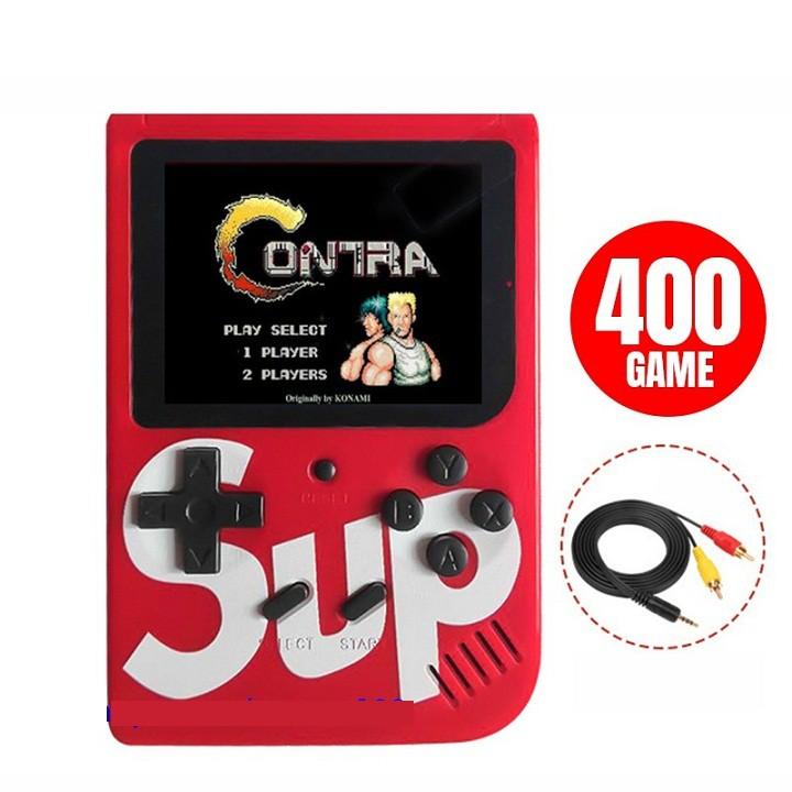 Máy Chơi Game SUP 400 SUP400 Cầm Tay G1 Plus 400 In 1 - HƠN 400 TRÒ CHƠI