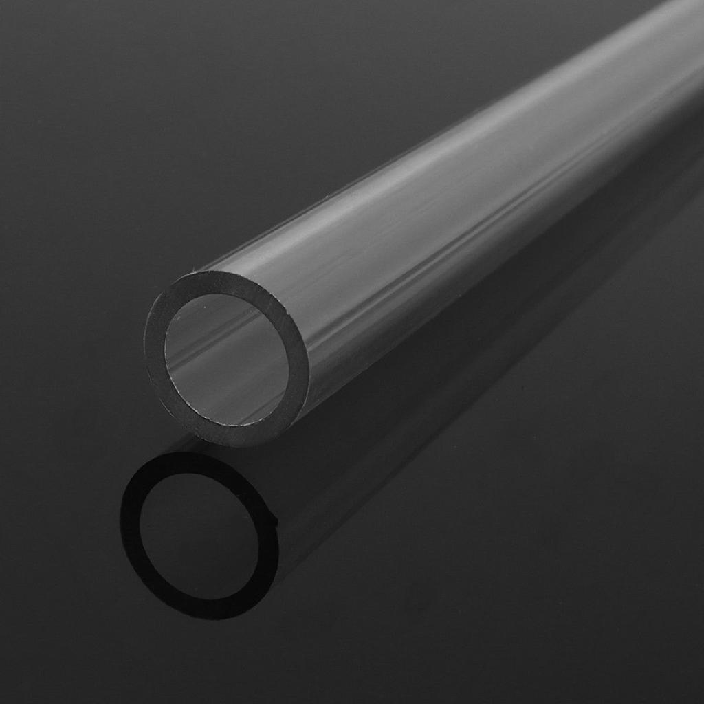 4x 50cm PETG Tubing Rigid Hard Tubes 10/14mm Clear Bending Hot Processing Parts