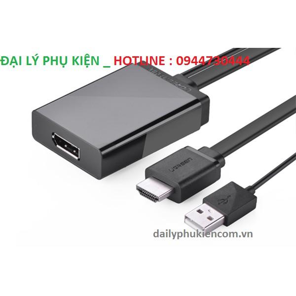 Cáp chuyển HDMI sang Displayport Chính hãng Ugreen 40238