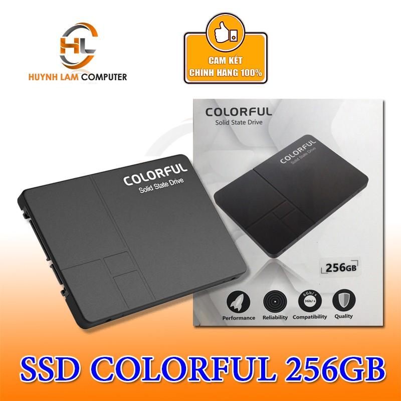 Ổ cứng SSD 256GB Colorful SL500 NWH Phân phối