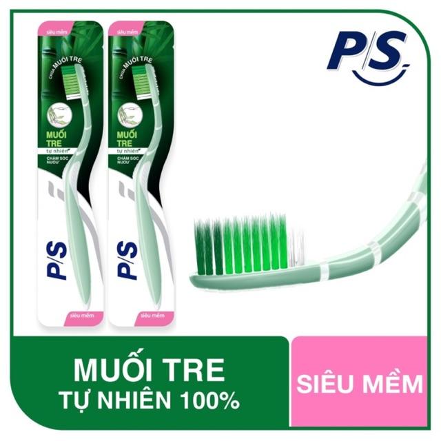 Bàn chải đánh răng P/S muối tre | Shopee Việt Nam
