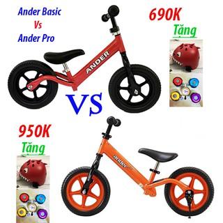 So sánh xe thăng bằng Ander Pro và Ander Basic
