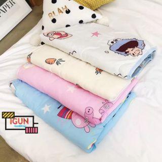 Chăn Hè Cho Bé Cotton Đũi Nhật Trần Bông Nhập Khẩu (được chọn mẫu) thumbnail