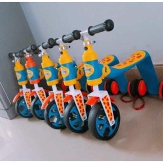 Xe trượt scoter và xe chòi chân thăng bằng 2 in 1