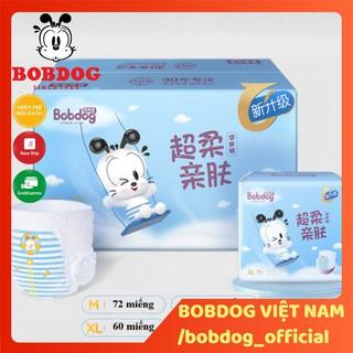 Thùng bỉm Bobdog Đậu quần đủ size S102 M90 L72 -M72 L66 XL60 XXL54 miếng thumbnail