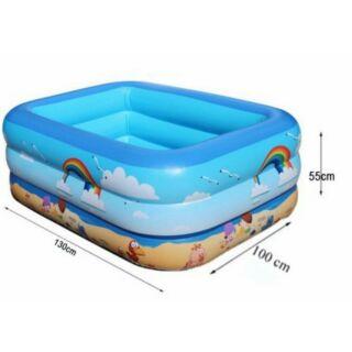Bể bơi hồ bơi 3 tầng 1m3