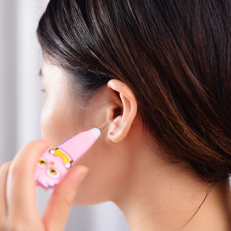 [Mã 267FMCGSALE giảm 8% đơn 500K] Dụng cụ lấy ráy tai có đèn tiện ích