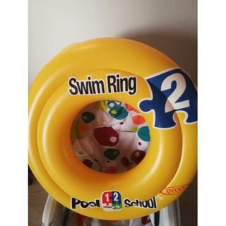 Phao tập bơi Intex cho bé, 2 vòng màu sắc cho bé thích thú tập bơi JP60133
