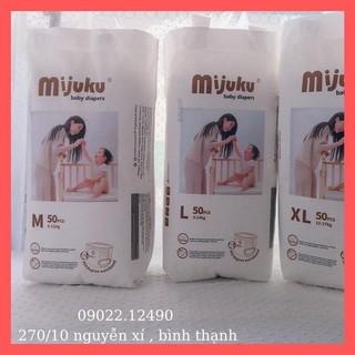 TÃ QUẦN MIJUKU M,L,XL, 2XL_50 miếng _Tả Nhật Chính Hãng của công ty Mijuku( FREESHIP khi mua 2 bịch trở lên)