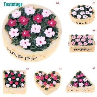 【Tastetagr】1/12 dollhouse micro flower vase animal miniature fairy garden home decoration