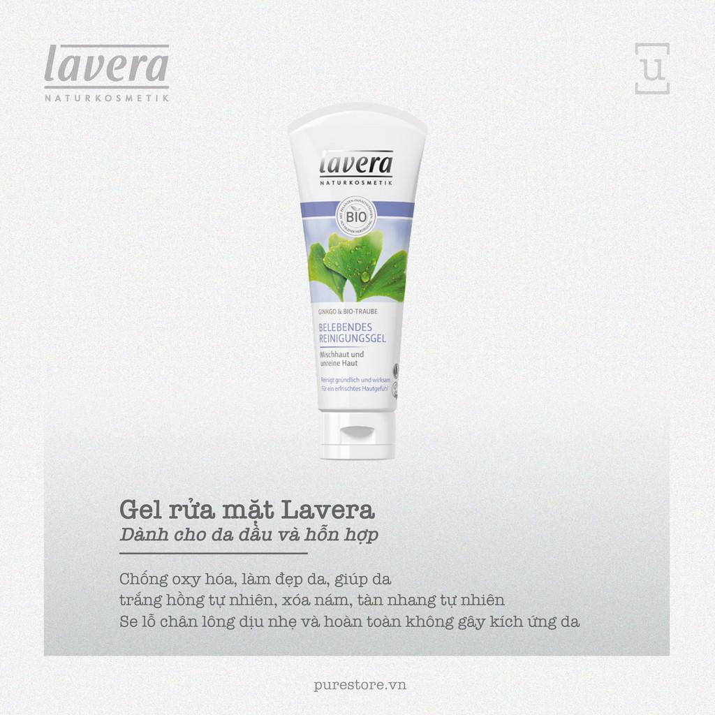 [Clearance Sale] Gel Rửa Mặt Da Dầu Và Hỗn Hợp - Lavera