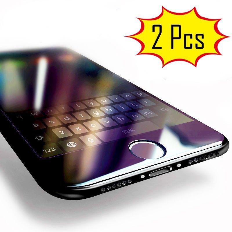 Kính cường lực toàn màn hình chống tia sáng xanh cho iPhone 7 8 iPhone 6s Plus