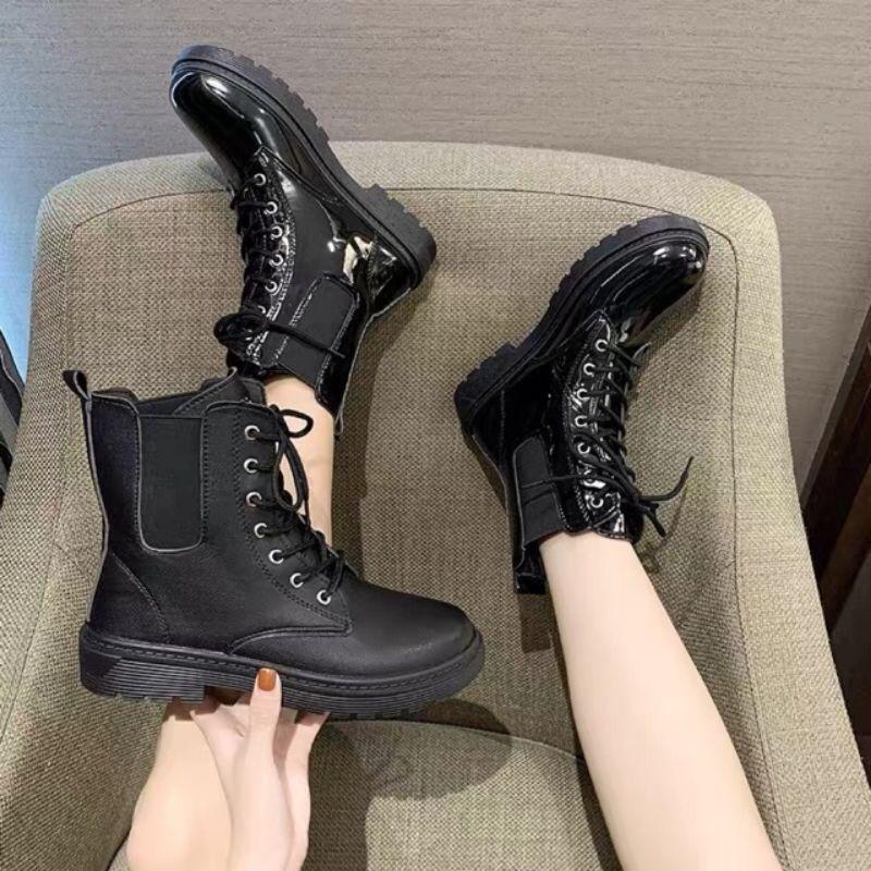 Giày Bốt nữ / boot nữ cổ cao ulzzang mới 2020_FREESHIP