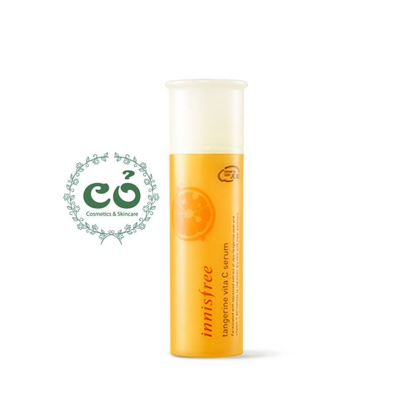 Tinh Chất Dưỡng Trắng Da Innisfree Tangerine Vita C Serum