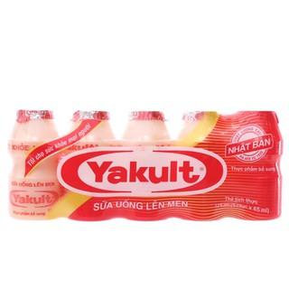 Sữa chua Uống Men Sống Yakult 65ml/5chai