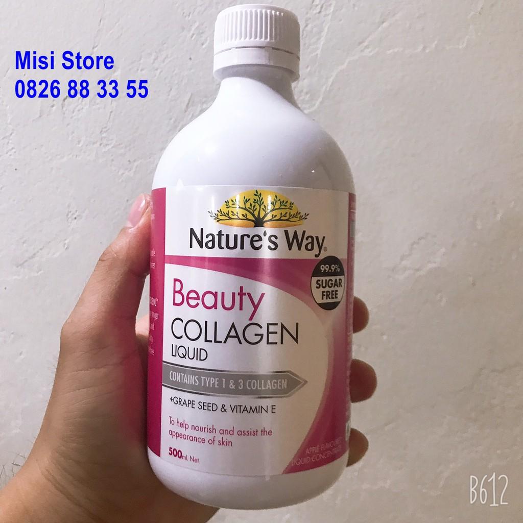 [Tem Chemist] Beauty Collagen, Collagen dạng nước, lọ 500ml thumbnail