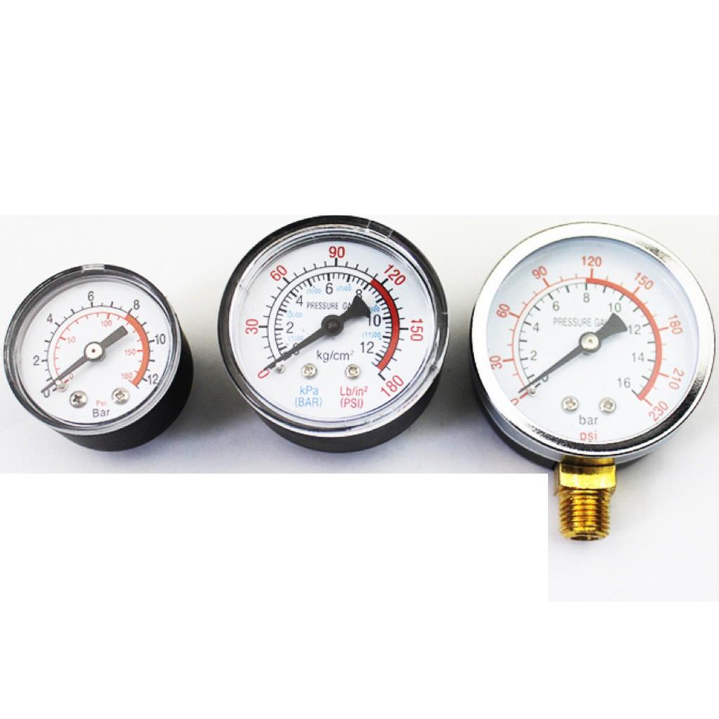 (giá sỉ) Đồng hồ hơi máy nén khí/ đồng hồ áp suất máy nén khí