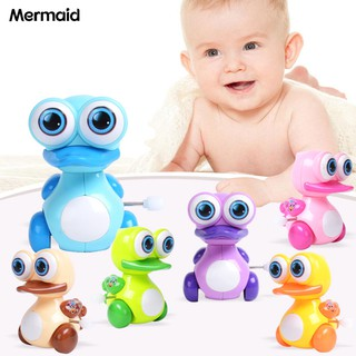 Mermaid Big Eye Duck Clockwork Wind Up Toy Funny