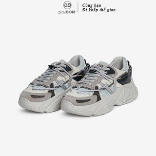 Giày Thể Thao Nữ giayBOM Đế Cao 5 cm B1062 thumbnail