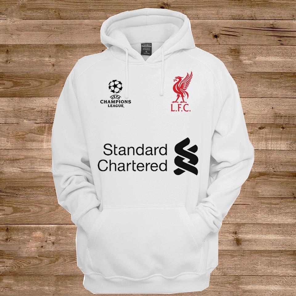 Áo hoodie CLB Liverpool - Áo khoác nỉ