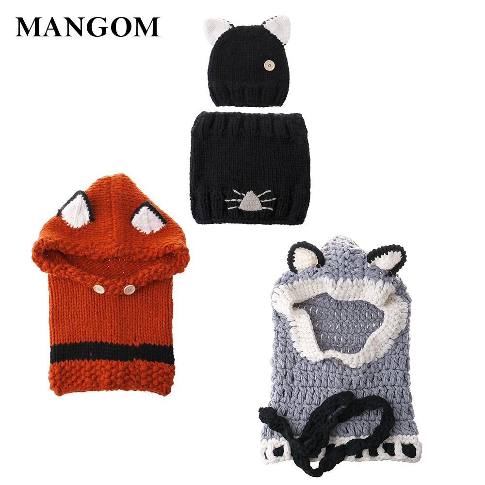 Shawl Warm Caps Knitted caps winter Children Adorable design Excellent