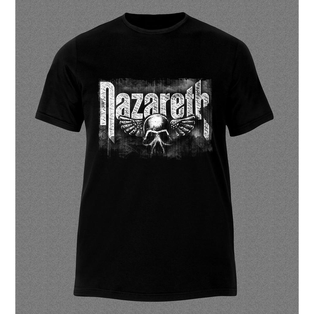 Fashion NAZARETH LOVE HURTS HEAVY METAL HARD ROCK MUSIC Men T-Shirt