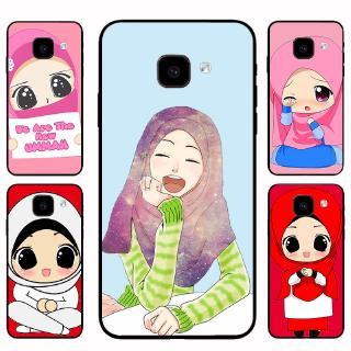 Ốp Lưng Mềm In Hình Cô Gái Hồi Giáo Cho Samsung J2 J5 J7 Prime A7 A8 A9 2018 A6 Plus A8 Plus M20