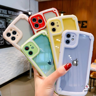 Ốp lưng chống sốc màu sắc ngọt ngào cho Iphone 11 / 7 / 8 / 6 / 6s Plus / X / Xr / Xs Max / 11pro Max