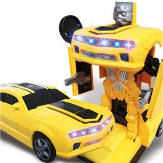 Ô tô biến hình thành rô bốt Đồ chơi trẻ em Robot Transformer