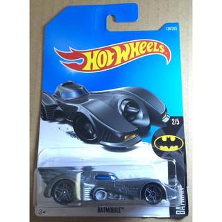 Xe mô hình Hot Wheels Batmobile (1989) FCC14