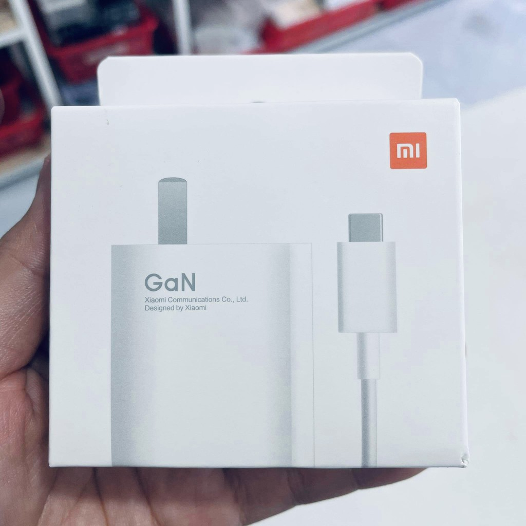 Bộ Sạc GaN 33W / 55W / 67W Xiaomi - Bộ Sạc Xiaomi Mi 11 Sạc Siêu Nhanh