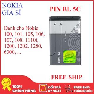 Yêu ThíchPin Nokia BL 5C dành cho cho nhiều dòng 105, 106, 107, 108, 100, 101, 110, 1200, 1202, 1280