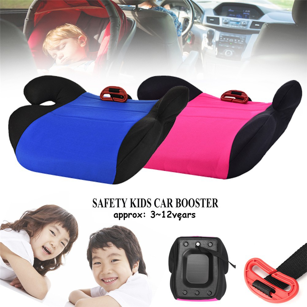 Child safety seat booster pad 3-12 years old child safety riding heightening pad