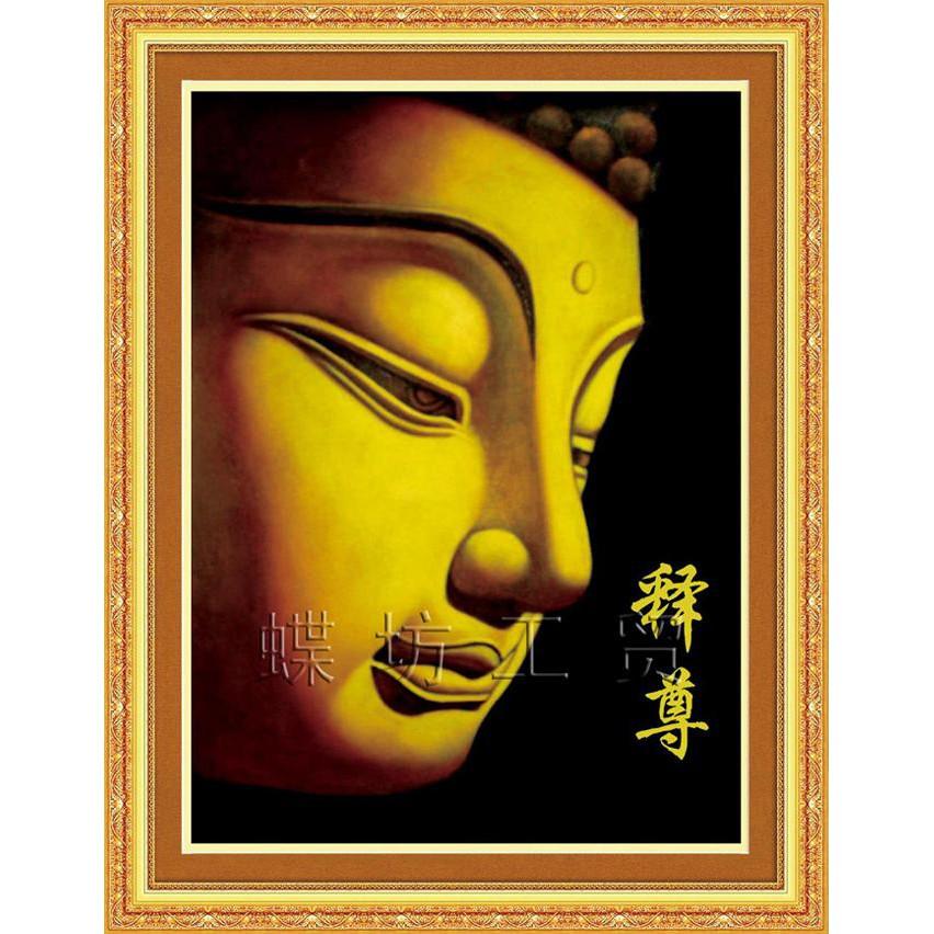 Mặt Phật (Vải In 3D)