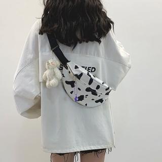Túi vải canvas đeo chéo thời trang hàn quốc cho nữ