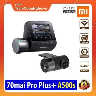 Camera hành trình 70mai Dash Cam Pro Plus A500s Siêu Nét tích hợp GPS, Tốc độ Km/h