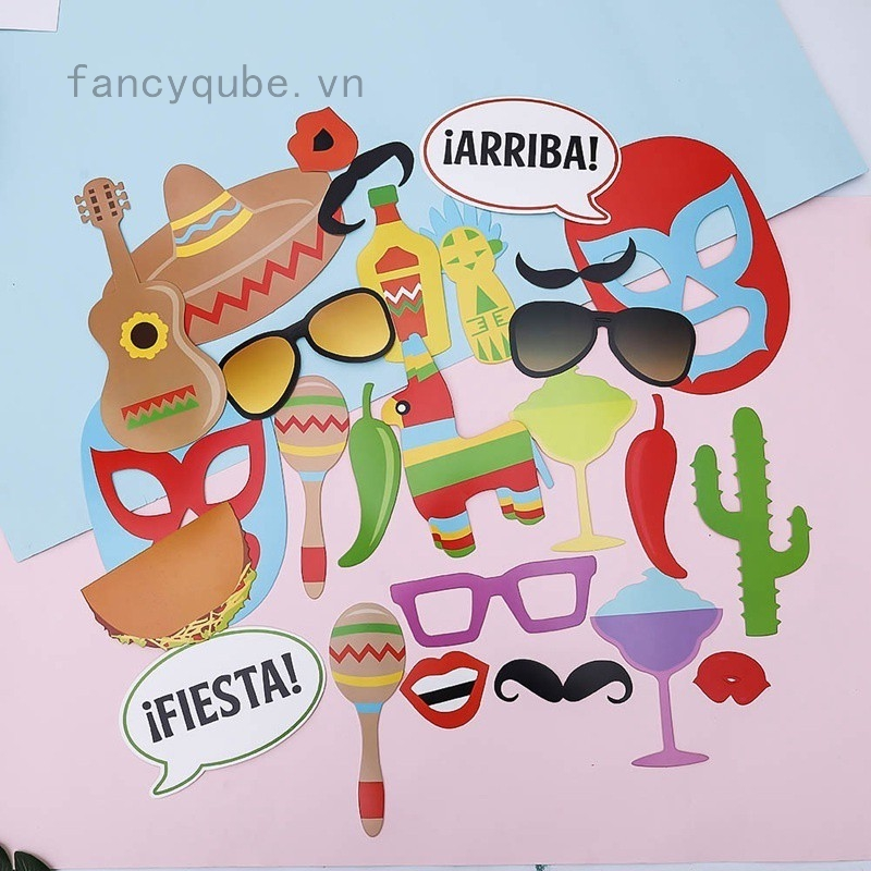 26pcs\/set Mexico Party Decorated Photo Booth Props Kit on A Stick Mexico Carnival Party Mask Photo Shoot Props - 14824642 , 1755332792 , 322_1755332792 , 78572 , 26pcs-set-Mexico-Party-Decorated-Photo-Booth-Props-Kit-on-A-Stick-Mexico-Carnival-Party-Mask-Photo-Shoot-Props-322_1755332792 , shopee.vn , 26pcs\/set Mexico Party Decorated Photo Booth Props Kit on A